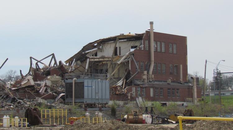 Former Delphi plant in Dayton, Ohio
